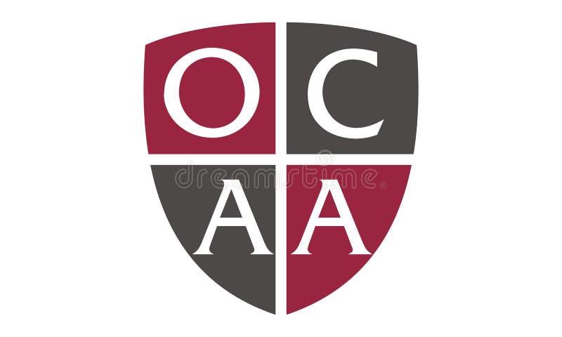 信件OCAA提倡者 库存例证
