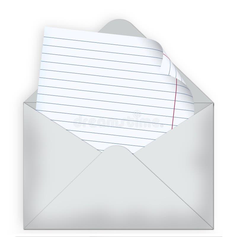 信包信函 皇族释放例证