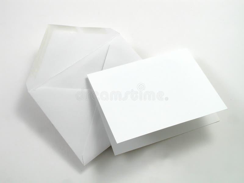 信包无格式 免版税库存照片