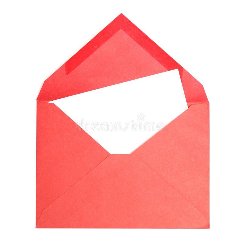 信包红色 图库摄影