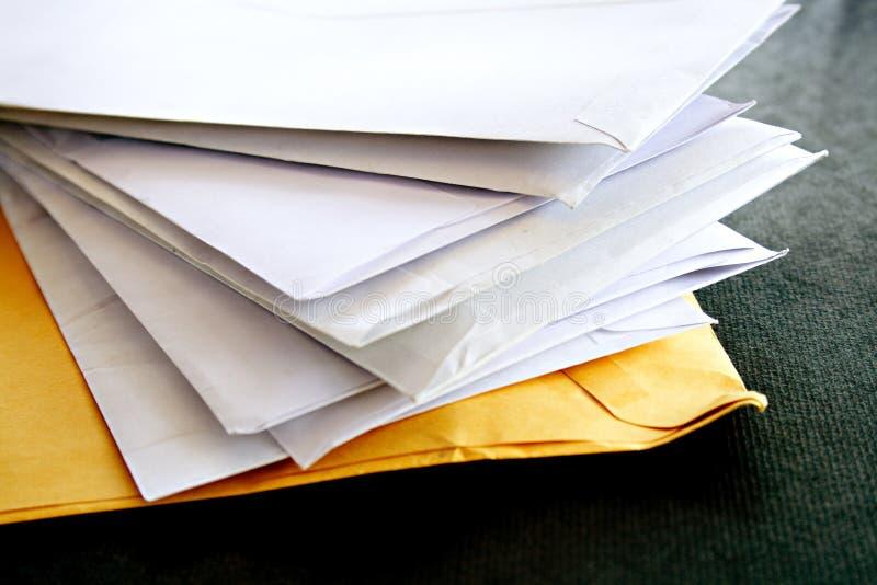 信包表 免版税库存照片