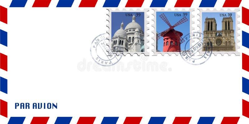 信包邮件 库存图片