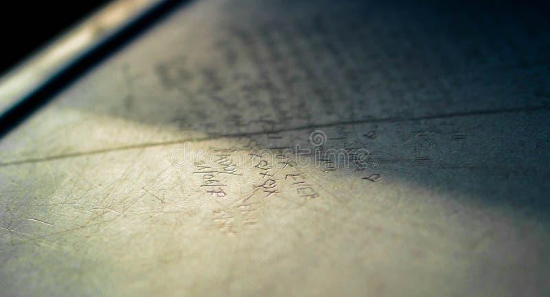 信包重点信函爱 库存图片