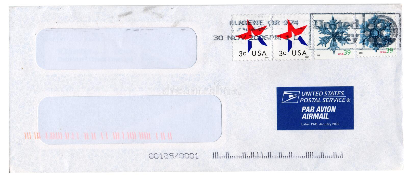 信包 库存图片