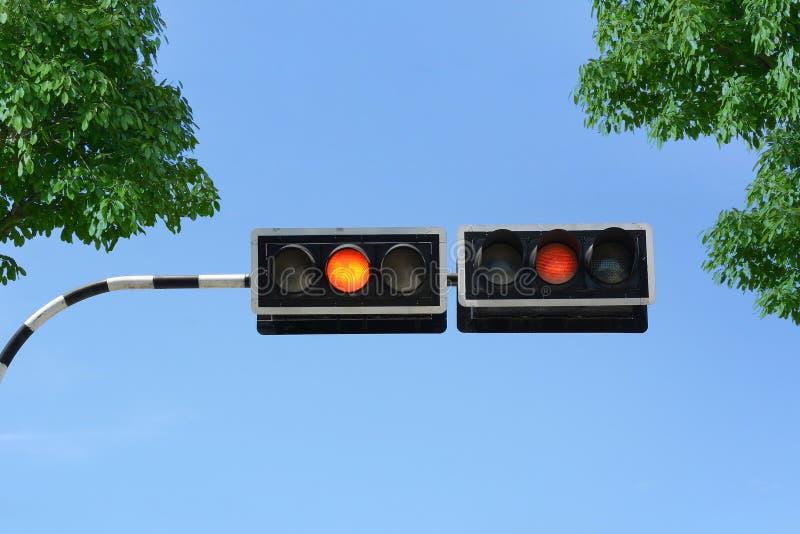 信号业务量 图库摄影