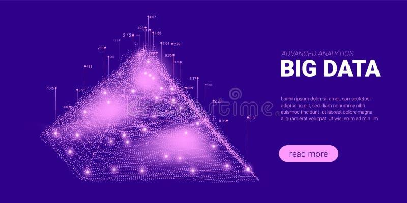 信号密码学,人工智能 向量例证