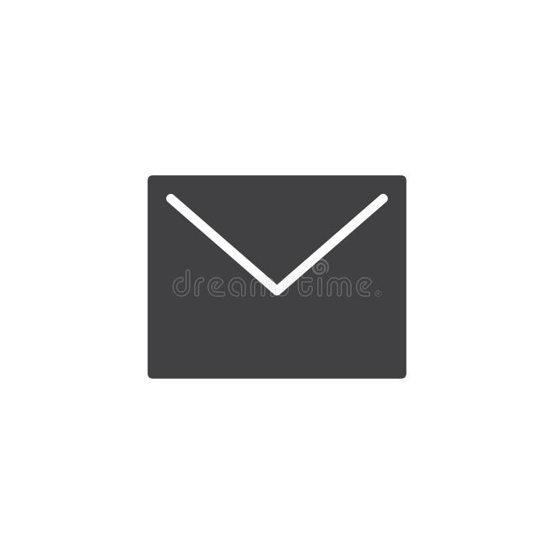 信封邮件传染媒介象 向量例证