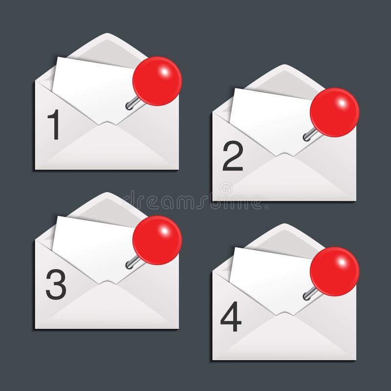 Download 信封-提议模板4菜单项目 向量例证. 插画 包括有 菜单, 选项, 钞票, 通信, 设计, 项目, 信包 - 30327337