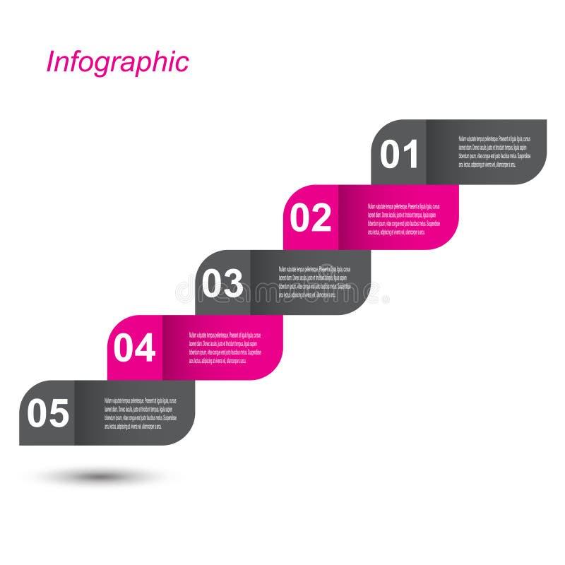 信息图表设计模板 向量例证