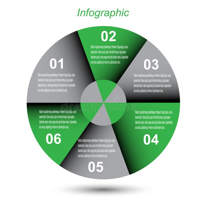 信息图表设计模板 库存图片