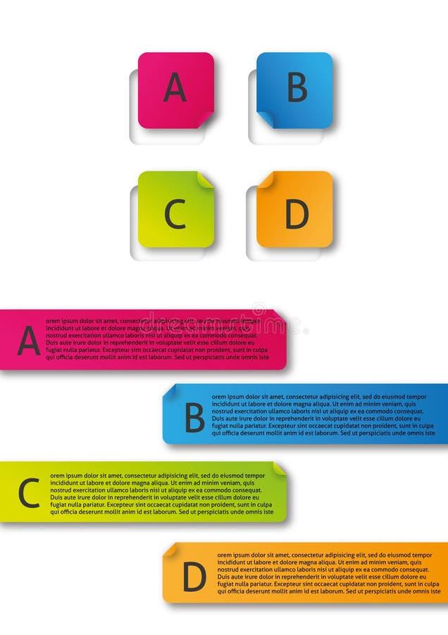 信息图表 免版税图库摄影