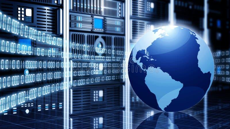 信息技术概念 皇族释放例证
