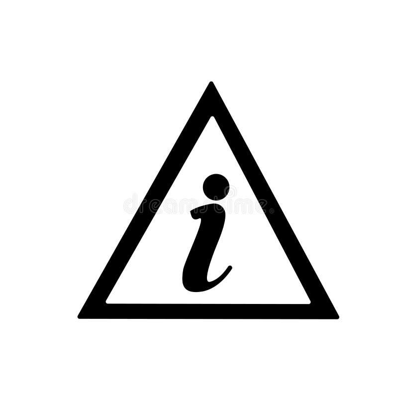 信息点象在白色背景和标志隔绝的传染媒介标志,信息点商标概念 向量例证