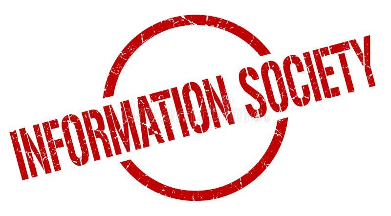 信息社会邮票 皇族释放例证