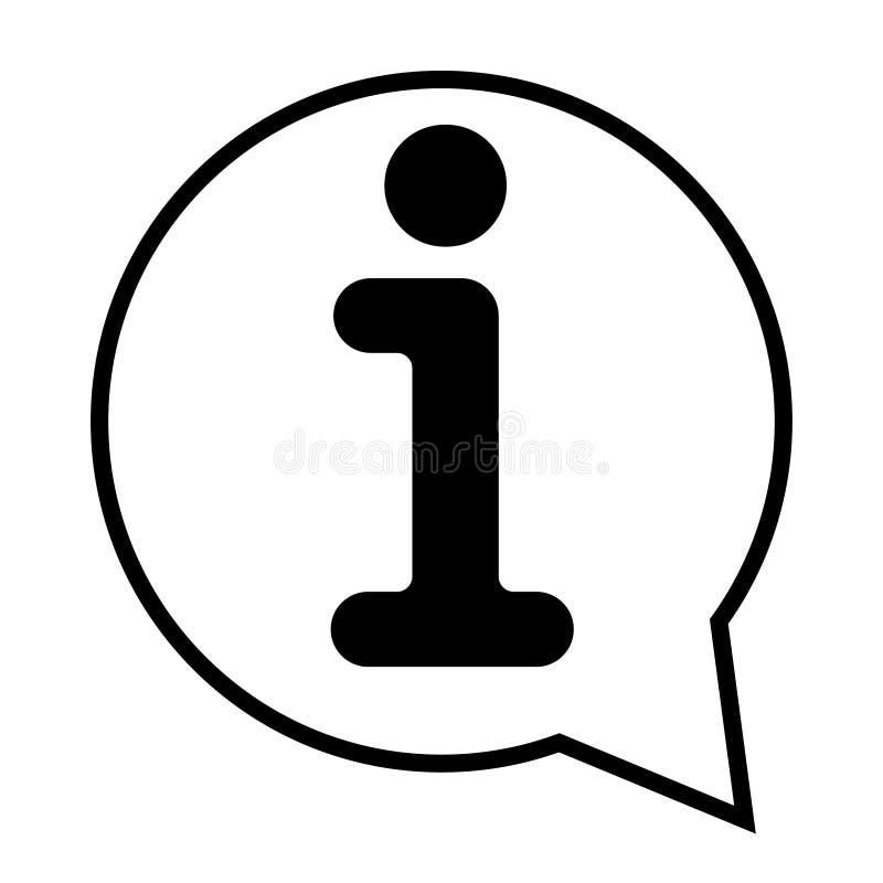 信息象传染媒介例证 信息标志 皇族释放例证
