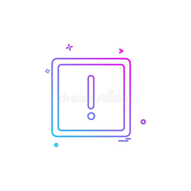 信息象设计传染媒介 向量例证