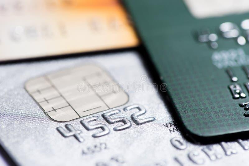 信用卡支付,在网上购物 库存图片