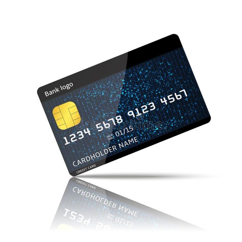信用卡支付 库存例证