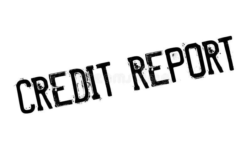 信用报告不加考虑表赞同的人 向量例证