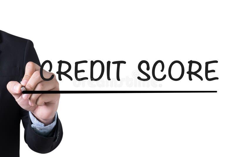信用评分 免版税图库摄影