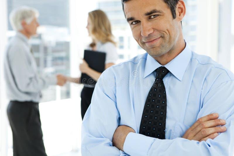 信任的企业握手 图库摄影