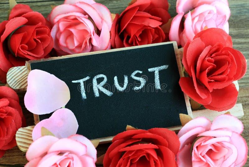 信任的概念 免版税图库摄影