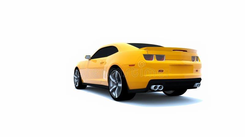修改过的肌肉汽车 免版税图库摄影