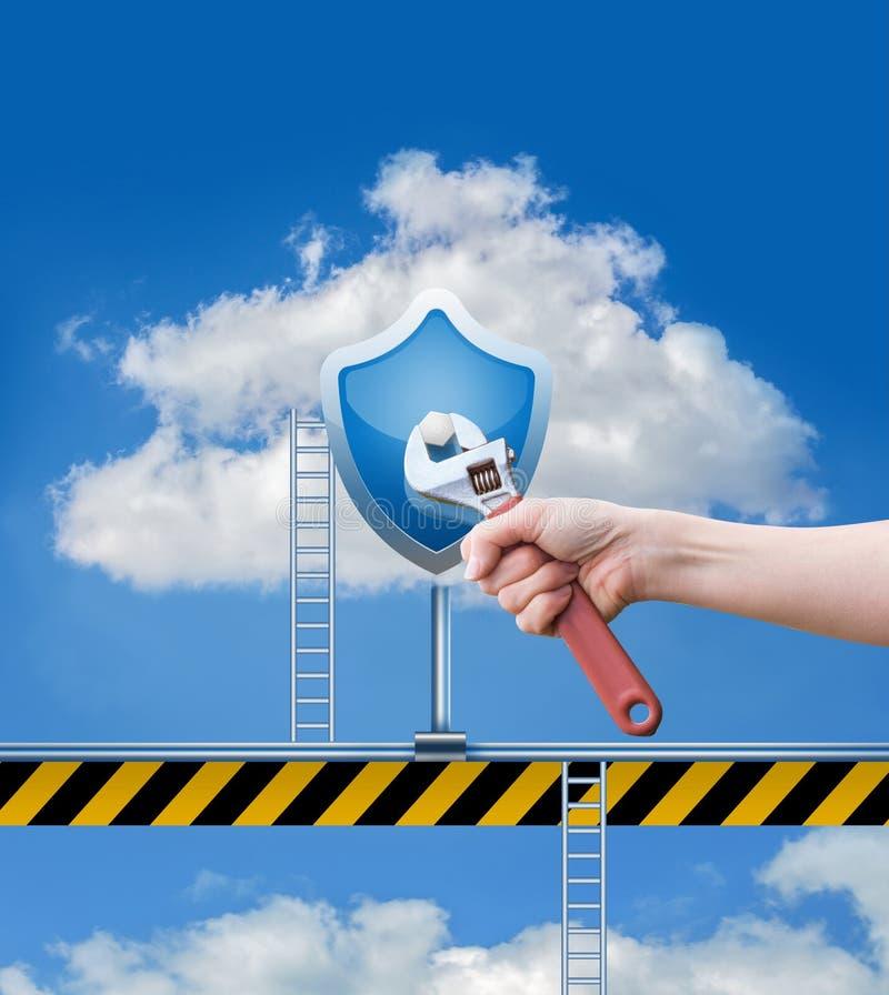 修理云彩数据 库存照片