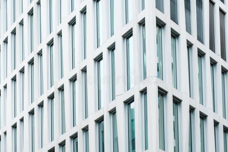 修造的门面,现代建筑学,摩天大楼外部 图库摄影