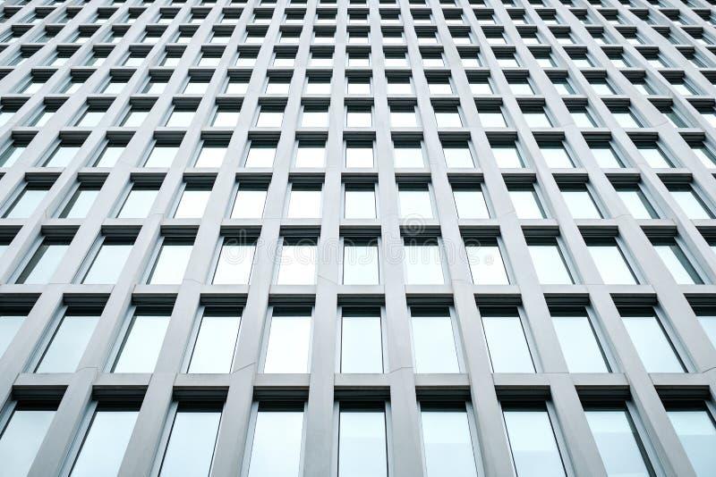 修造的门面,现代建筑学,摩天大楼外部 库存照片