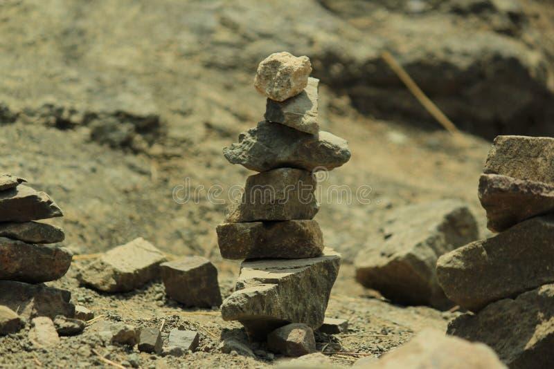 修造石头 库存图片