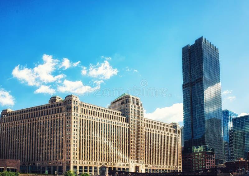 修造芝加哥的小商店 库存图片