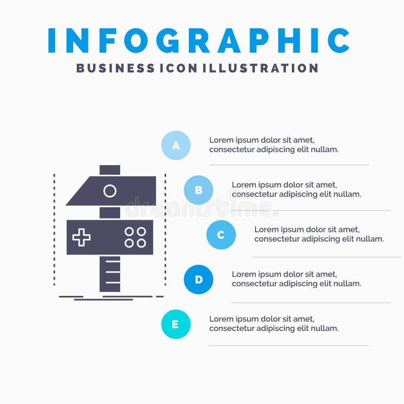 修造,制作,开发,开发商、比赛Infographics模板网站的和介绍 r 皇族释放例证