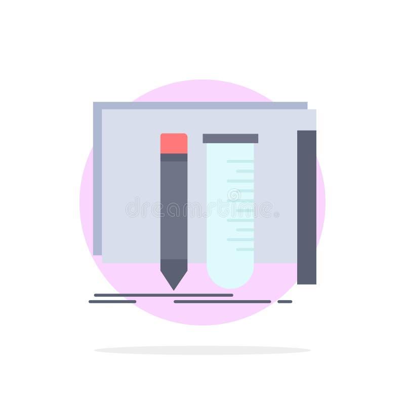 修造,设备,很好,实验室,工具平的颜色象传染媒介 库存例证