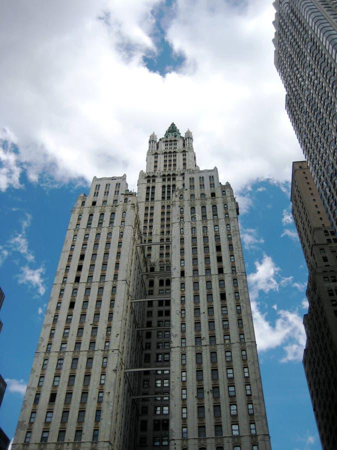 修造NYC的伍尔沃思 库存图片