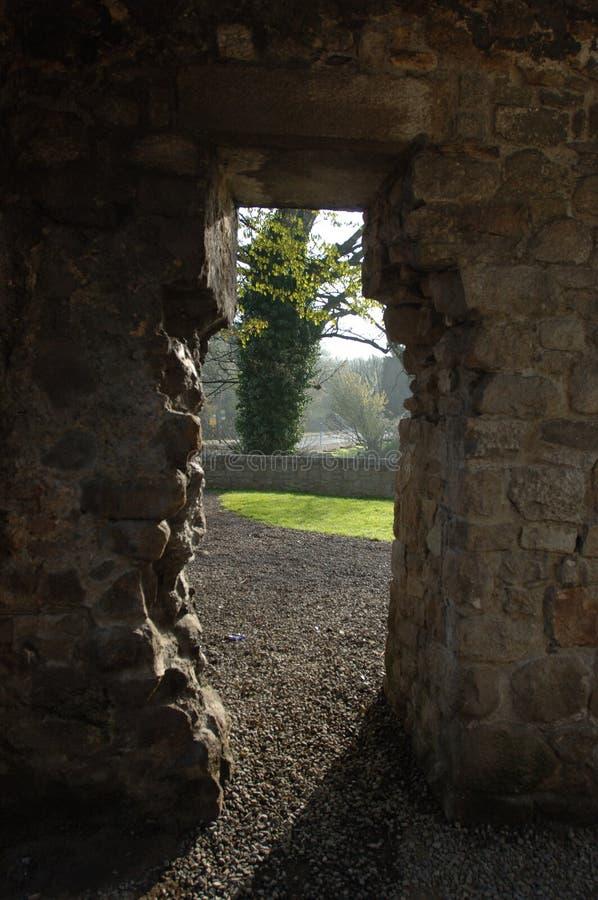 修道院入口 库存图片