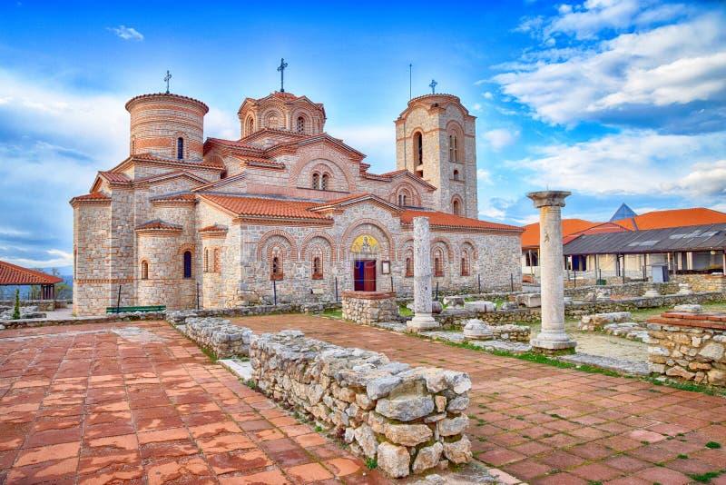修道院圣徒Panteleimon 免版税库存图片