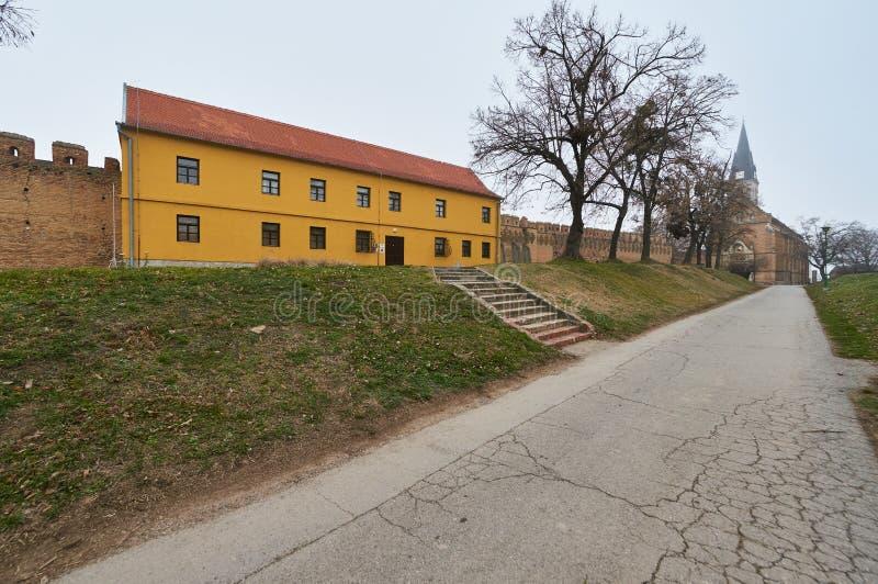修道院在伊洛克 免版税图库摄影