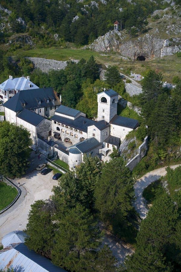 修道院在Cetinje 库存照片