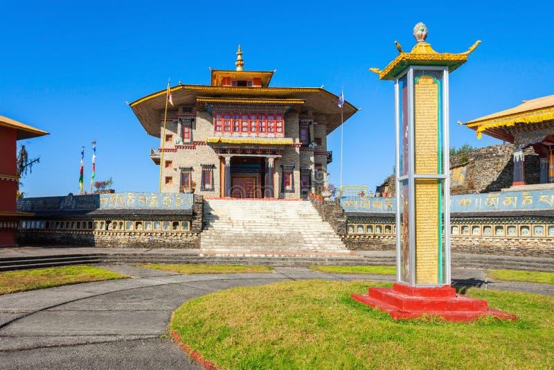 修道院在Ravangla 免版税库存照片