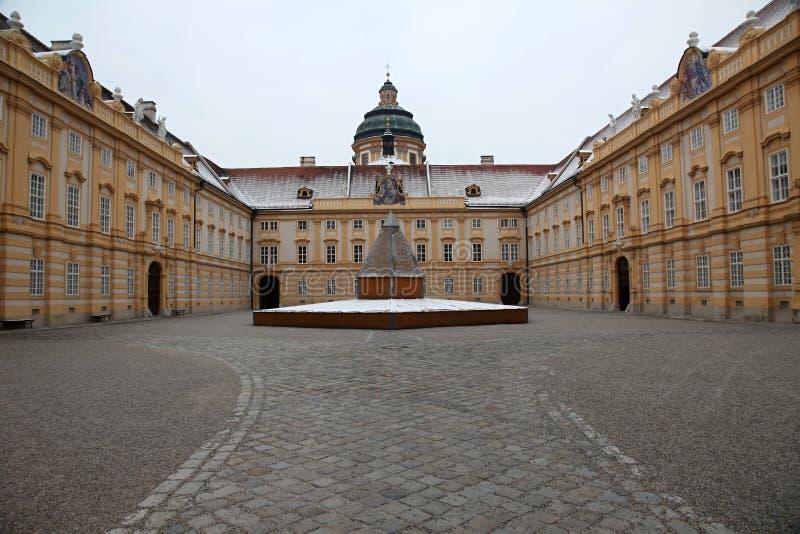 修道院奥地利melk 免版税图库摄影