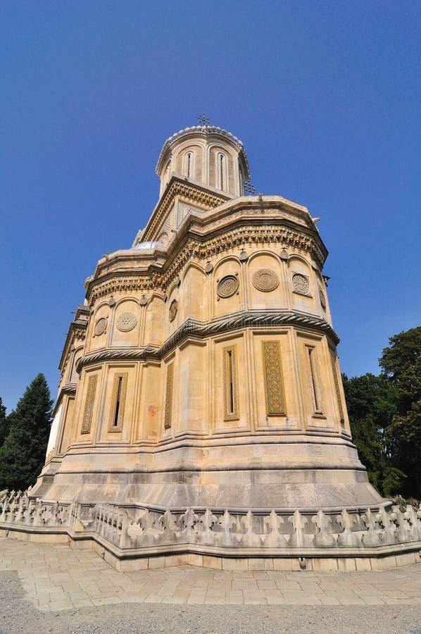 修道院正统罗马尼亚语 免版税库存照片
