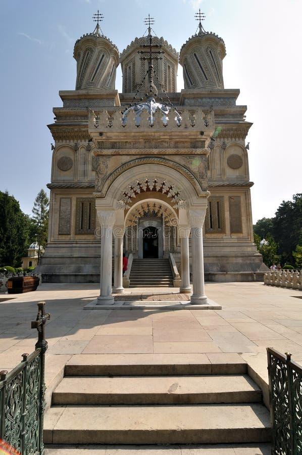 修道院正统罗马尼亚语 库存照片