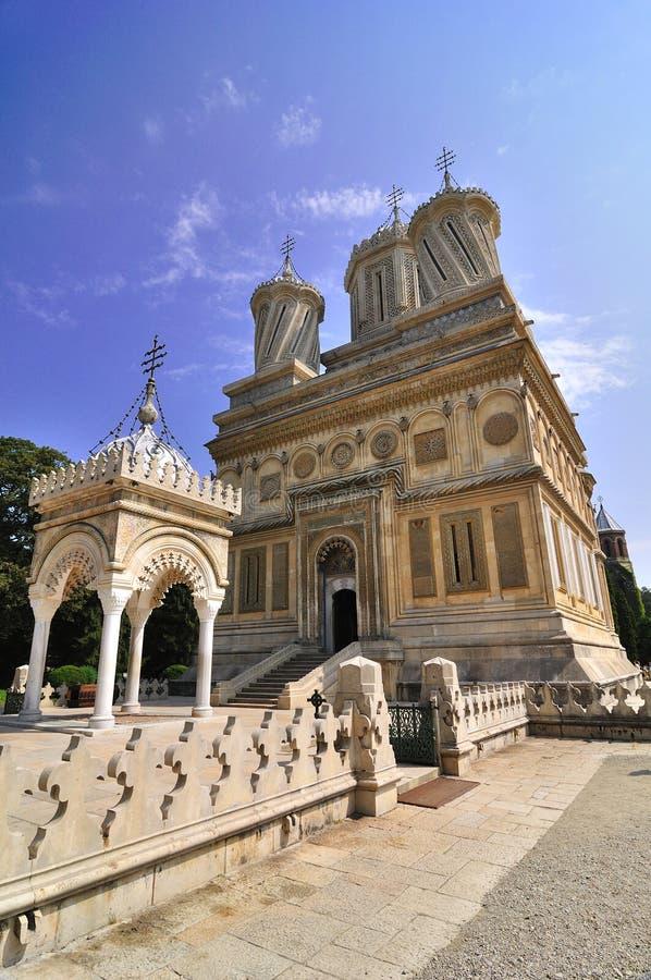 修道院正统罗马尼亚语 免版税库存图片
