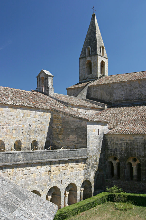 修道院法国 免版税库存图片