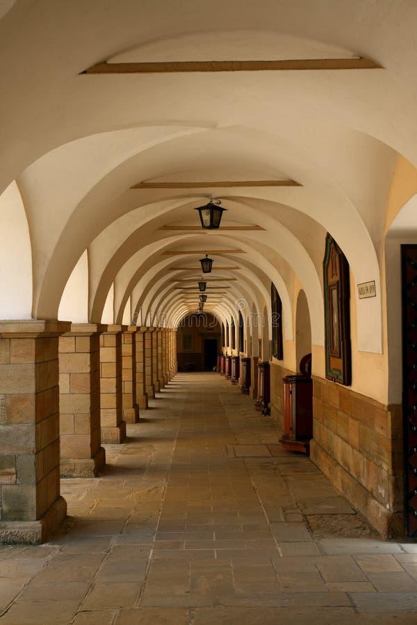 修道院波兰 库存图片