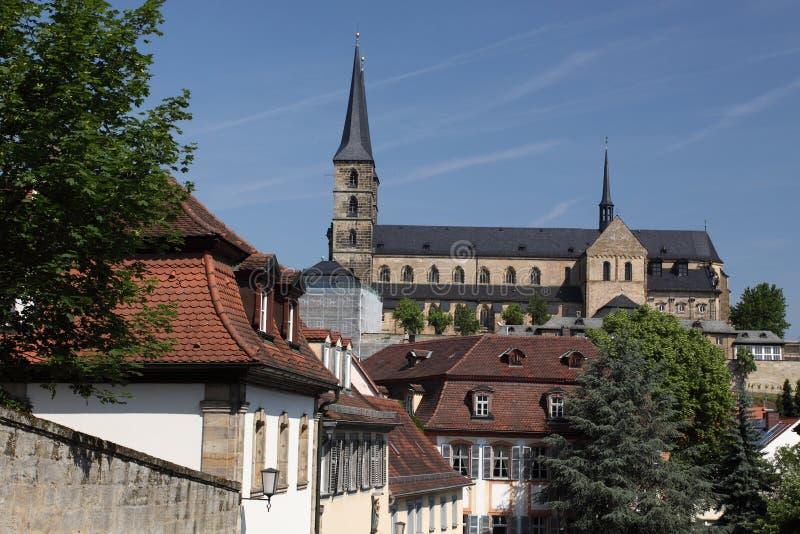 修道院琥珀michaelsberg 免版税图库摄影