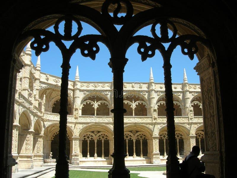 修道院的修道院贝拉母(葡萄牙) 库存照片