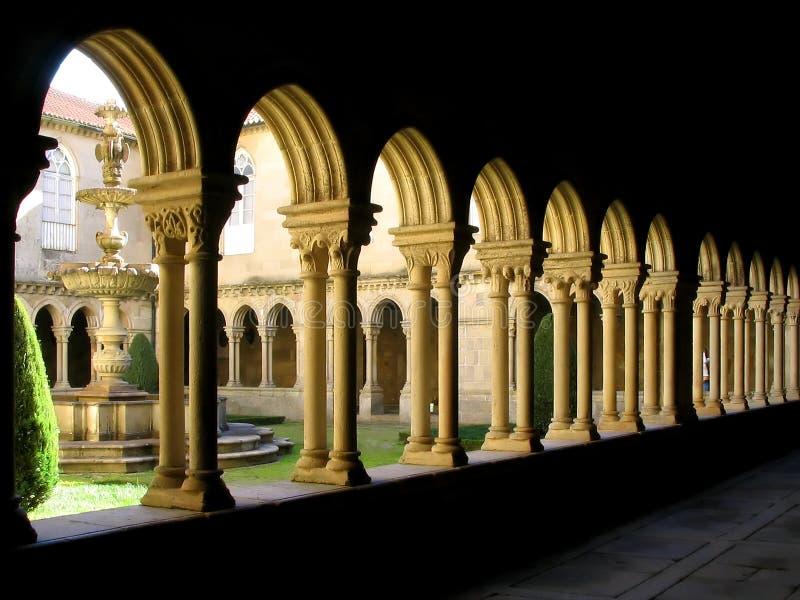 修道院详细资料葡萄牙 库存照片