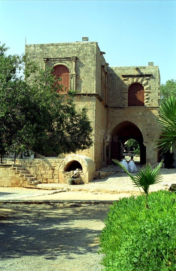 修道院, Agia纳帕,塞浦路斯 免版税库存图片
